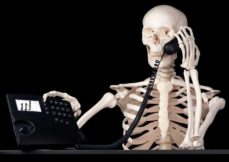Telephone-Call-Skeleton