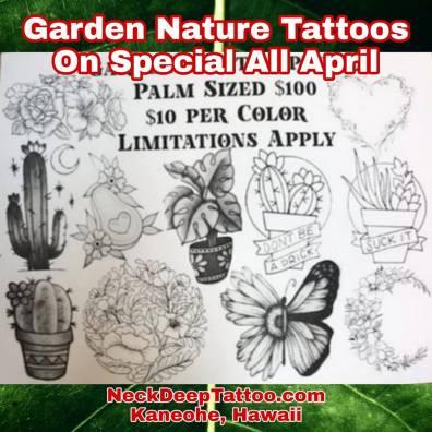 April Garden Nature Special 100 Palm