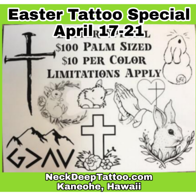 Easter Tattoo Special