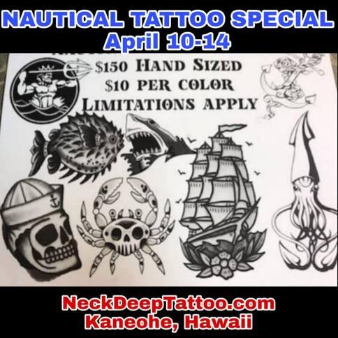 Nautical Tattoo Special