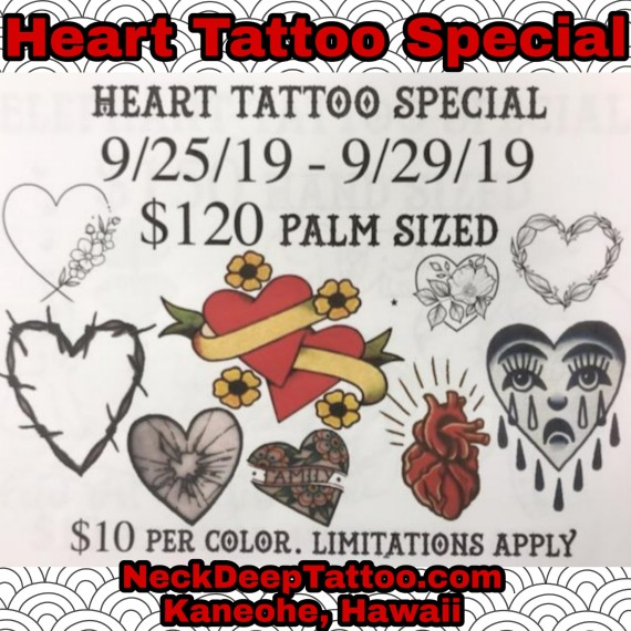 Heart Tattoo Special
