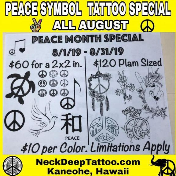 Peace Symbol Special