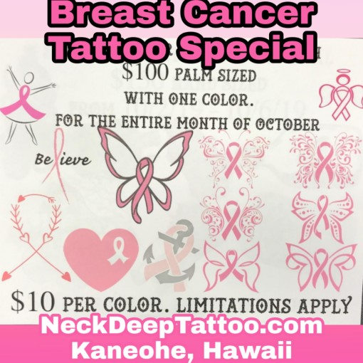Breast Cancer Tattoo Special