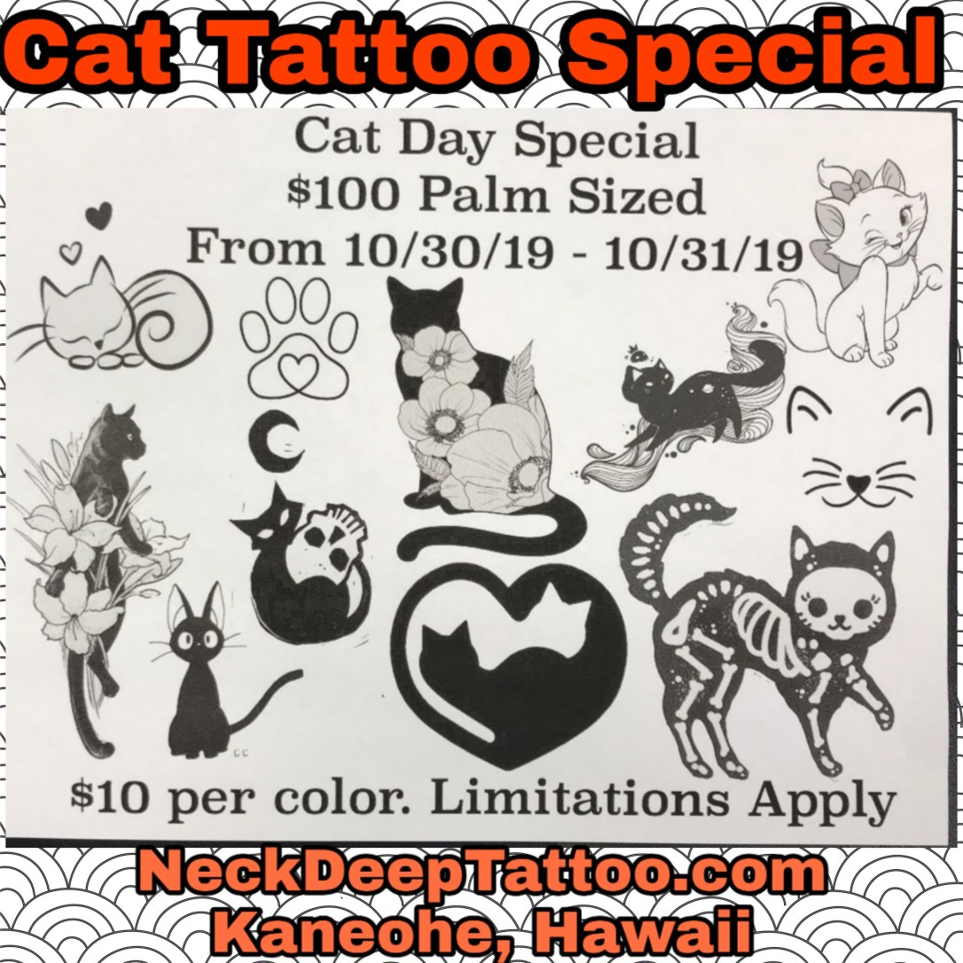 Cat Tattoo Special